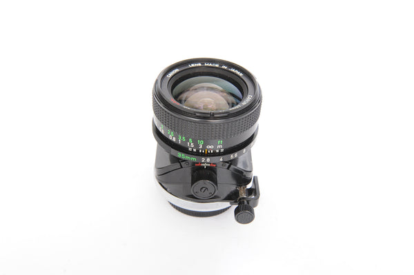 Canon FD 35mm f2.8 TS SSC with case