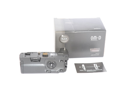 Olympus HLD-9 battery grip for E-M1 Mark II