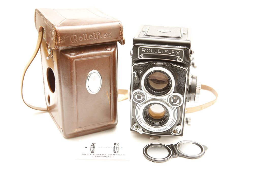 Rolleiflex E3 with 75mm f3.5 Xenotar