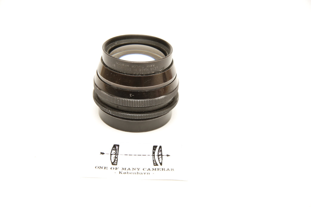 Cooke 8 1/4 inch f/4.5 XEROX Lens Made in England by Rank Taylor Hobson