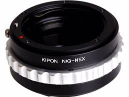 Kipon Adapter NIK/G-NEX