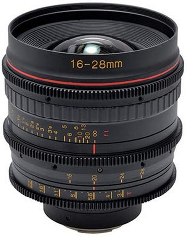 Tokina Cinema 16-28mm T3 ATX Wide Angle Zoom Lens - Canon EF - Rental Only