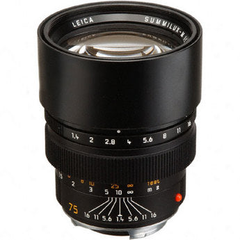 Leica M 75mm f1.4 Summilux - Rental Only