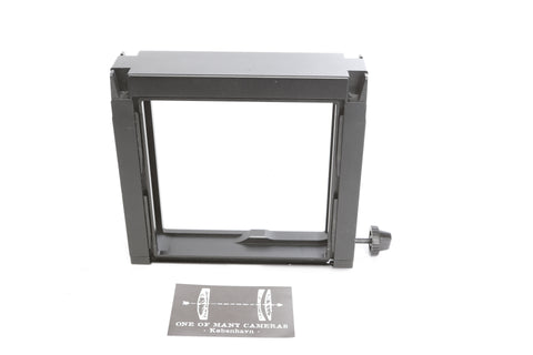 SINAR digital back rear standard wide frame adapter 4x5