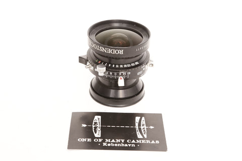 Rodenstock 65mm f4.5 Grandagon-N MC in Copal 1 shutter