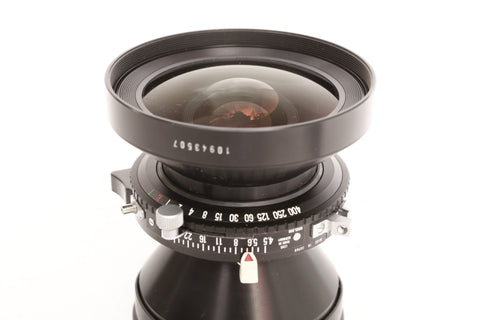 Rodenstock 90mm f4.5 Grandagon-N MC in Copal 1 shutter on Linhof Technika IV board