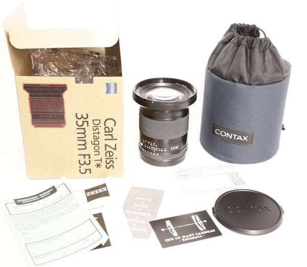 Contax 645 35mm f3.5 Zeiss Distagon - NEW IN BOX
