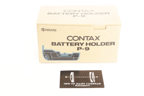 Contax Battery Holder P-9 - NEW IN BOX