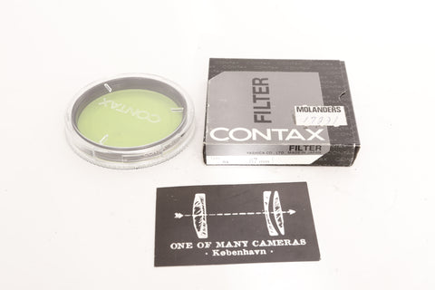Contax Ø67 Filter Type B2 (82A) - NEW IN BOX