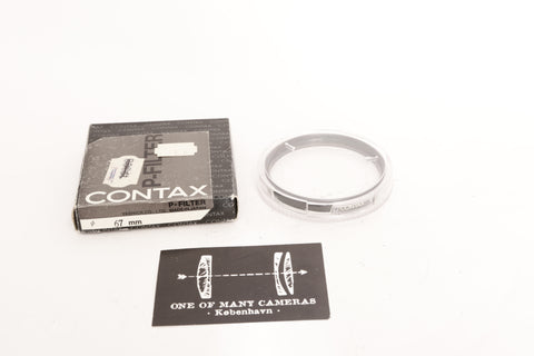Contax Ø67 P-Filter - NEW IN BOX