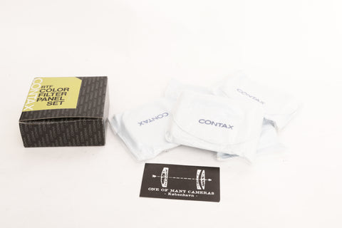 Contax RTF Color Filter Panel Set - NEW IN BOX
