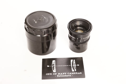 Jupiter 12 35mm f2.8 Leica Screw Mount black