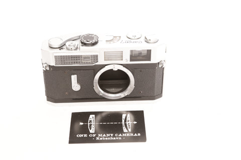 Canon 7 Chrome - cl'a April 2020