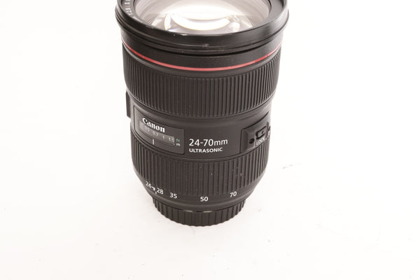 Canon EF 24-70mm f2.8 L II USM with hood EW-88C