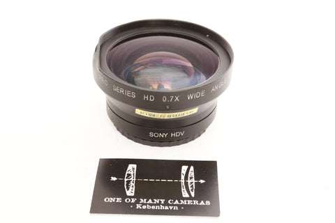 Century Pro Series HD 0.7x Wide Angle converter Sony HDV