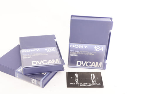 Sony DVCAM Tape PDV-184N Advanced Metal Evaporated Tape Brand New Never Used