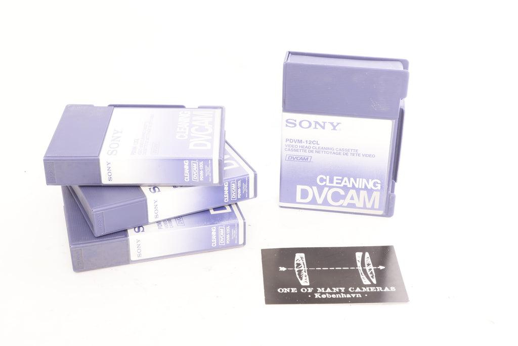 Sony PDVM-12CL Cleaning DVCAM