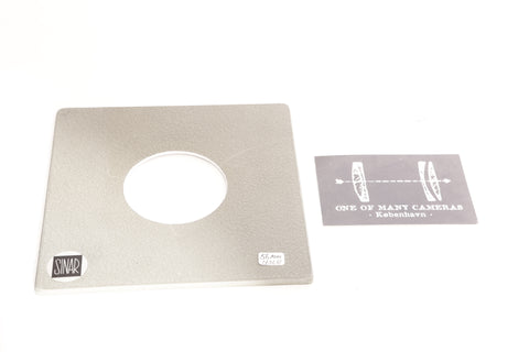 Sinar Lens Board with 56mm hole