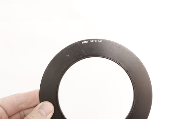 Sinar Adapter Ring 100+125/M95x1 – 547.81.043