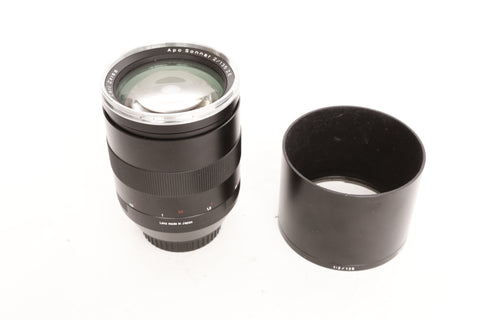 Zeiss ZE 135mm f2 Apo Sonnar - Canon EF mount