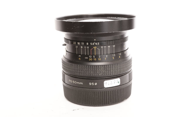 Bronica 50mm f4.5 Zenzanon-PG - for Bronica GS-1