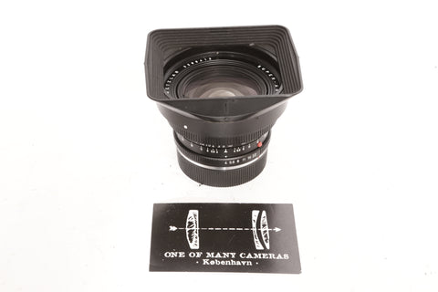 Leica R 21mm f4 Super-Angulonwith hood 12506