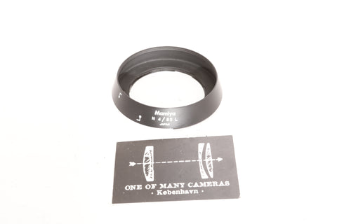 Mamiya 65mm f4 N L LENS HOOD - for Mamiya 7 7II
