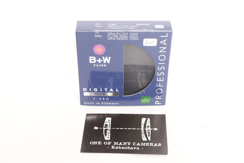 B+W 77mm MRC 110M ND 3.0 Filter (10-Stop)