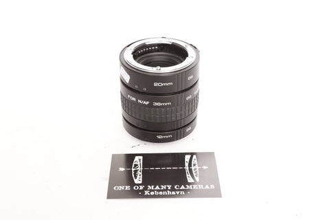 Kenko Extension Tube 12mm 20mm 36mm for Nikon AF