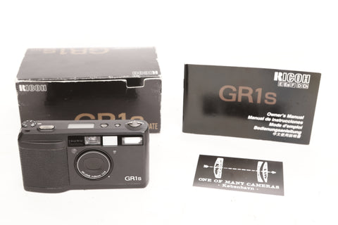 Ricoh GR1s with box
