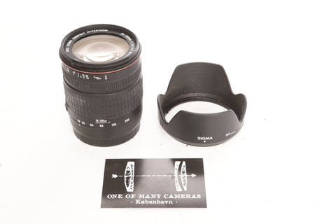 Sigma 28-200mm f3.5-5.6 Macro Hyperzoom Aspherical IF - Canon EF