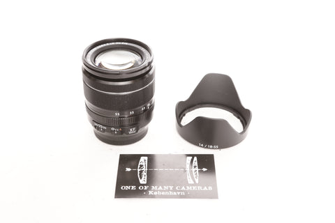 Fuji XF 18-55mm f2.8-4 R LM OIS Super EBC with hood