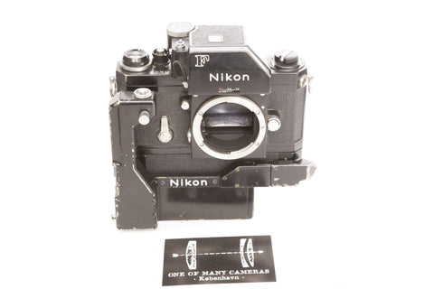 Nikon F Black with F36 Motor-Drive and F-250 PowerPack