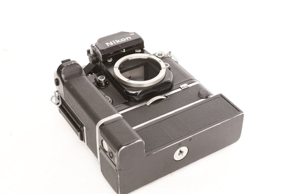 Nikon F2 with MD-2 Motor Drive and MB-1