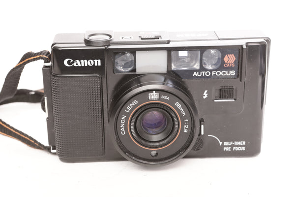 Canon AF35M with 38mm f2.8