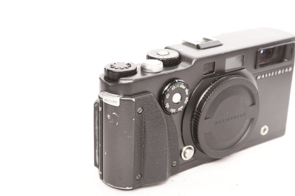 Hasselblad Xpan with 45mm f4 with hood