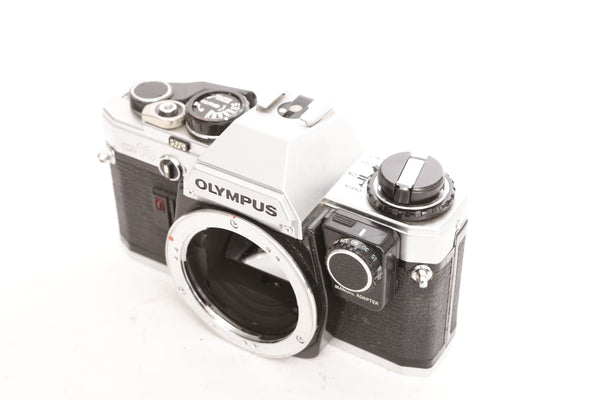 Olympus OM-10 with Manual adapter