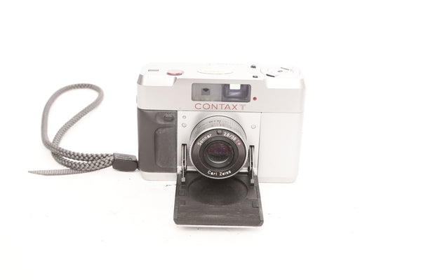 Contax T with T14 Flash case and box