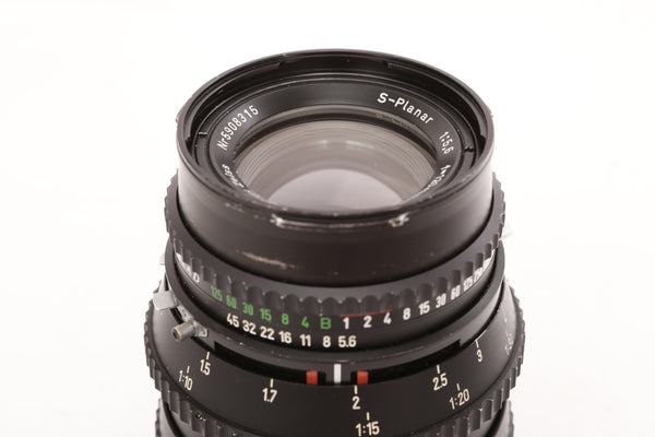 Hasselblad 120mm f5.6 Zeiss S-Planar T* - cl'a December 2020