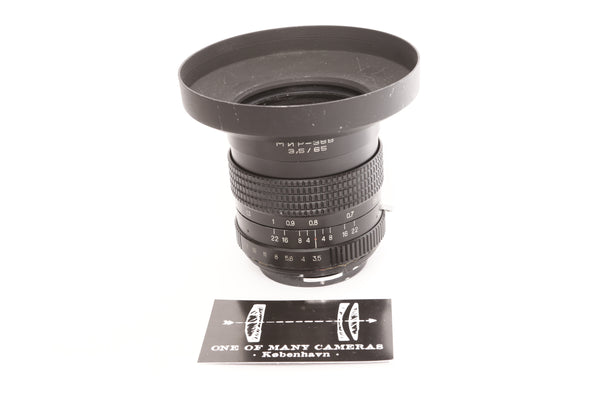 Pentacon Six - Mir-38B 65mm f3.5 - Pentacon Six