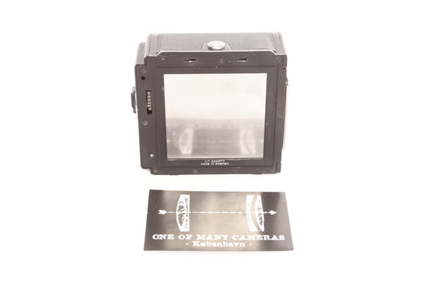 Hasselblad A16 Roll-Film Back Black - serviced January 2021