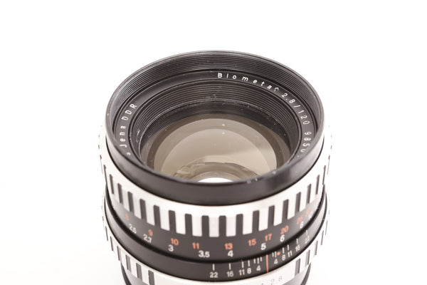Zeiss 120mm f2.8 Biometar - Pentacon Six mount