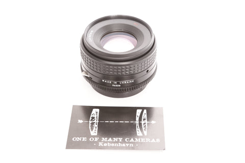 Arax 80mm f2.8. MC - Pentacon Six mount
