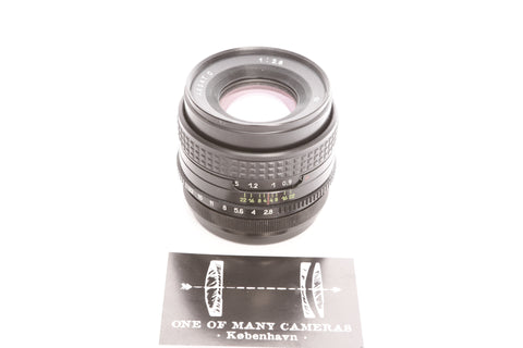 Arsat 80mm f2.8 C - Pentacon Six