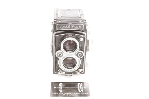 Rolleiflex MX TLR with 75mm f3.5 Tessar - cl'a January 2021