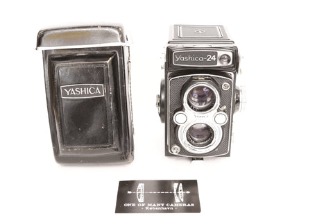 Yashica-24 TLR with 80mm f3.5 Yashinon - CL'a January 2020
