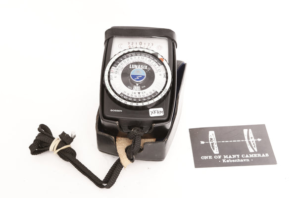 Gossen Lunasix F light meter