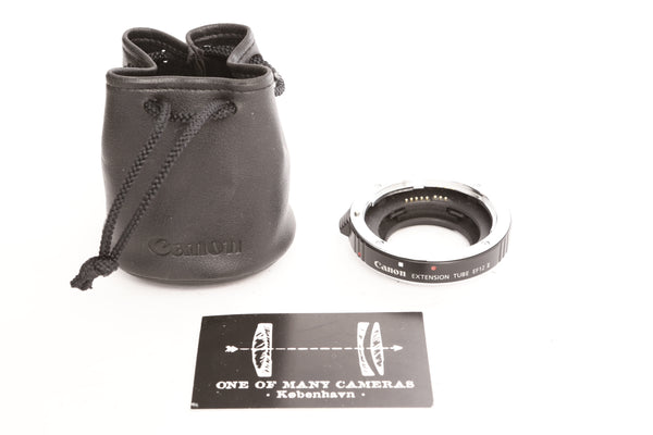 Canon EF12 II Extension Tube with pouch