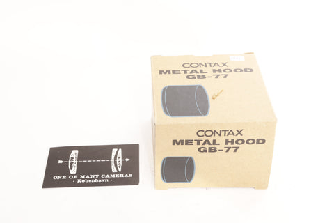 Contax Metal Hood GB-77 - NEW IN BOX