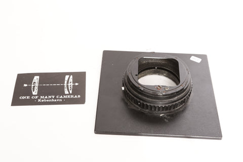 Sinar Lens Board - Hasselblad Camera Mount